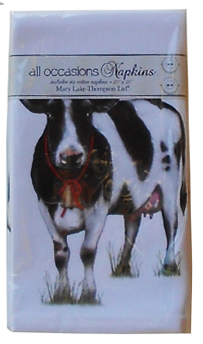 cow kitchen napkins