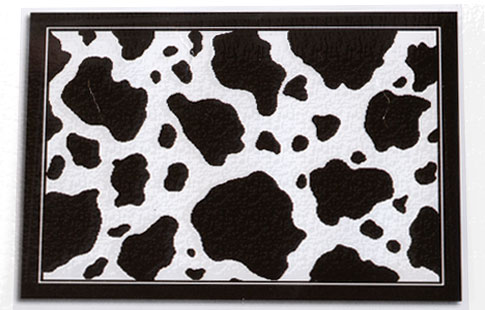 cow area rug