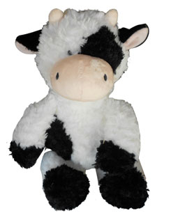 cow childrens toy plush