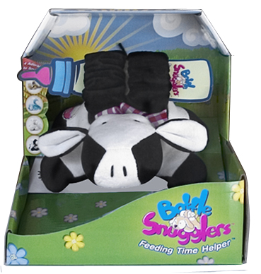 cow baby bottle holder