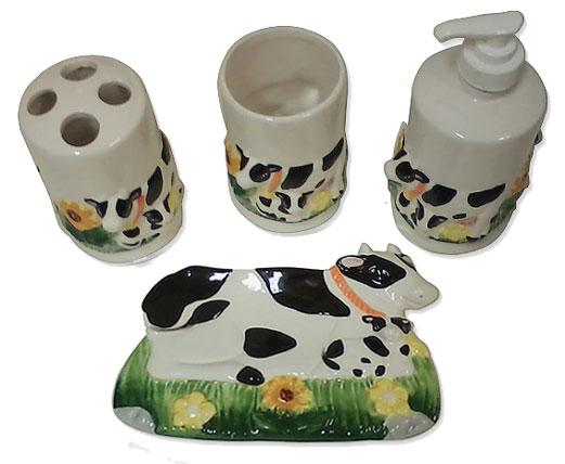 Gift Cow Bath Set