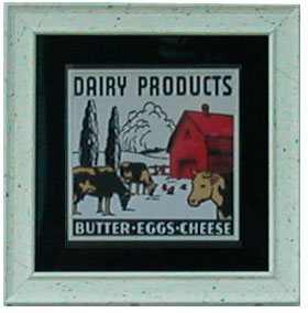Cow butter Signs