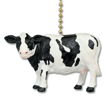 cow holstein ceiling fan pull
