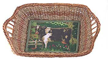 cow basket