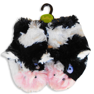 cow kids slippers