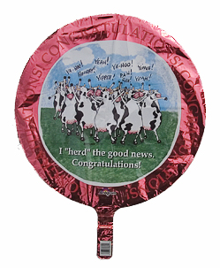cow party mylar balloon herd of cows