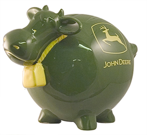 cow john deere bank