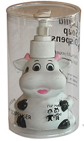 cow soap pump