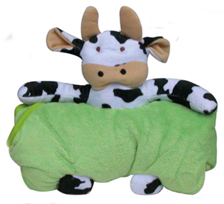 cow terry cloth towel