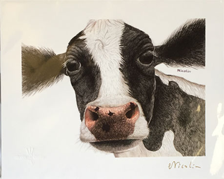 cow artwork