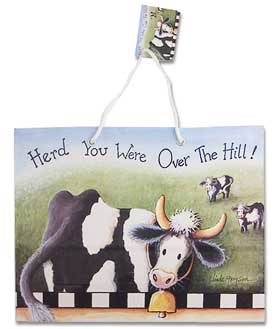 cow over the hill party bag