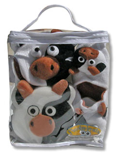 cow bath gifts set