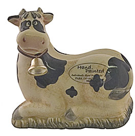 cow kitchen napkin holder