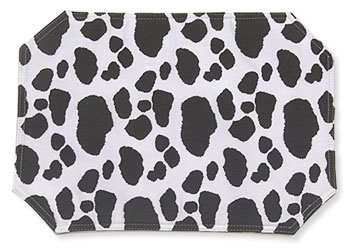cow kitchen placemat