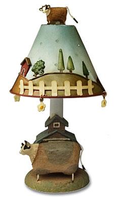 Marvelous Cow Lamp