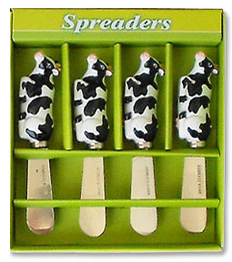 cow kitchen spreader set