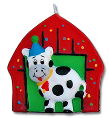 cow party candle barn