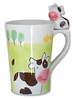 cow kitchen mug