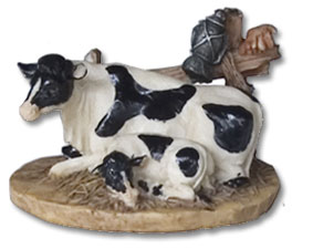 resin cow