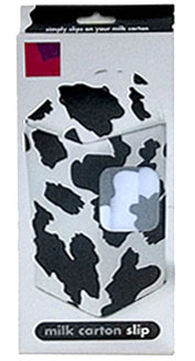 cow milk carton kitchen cover