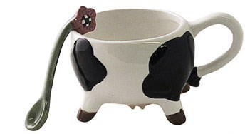 cow creamer set