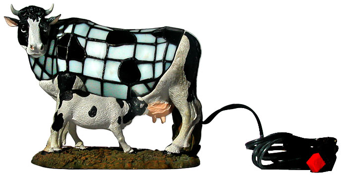 High Quality Cow Tiffany Lamp