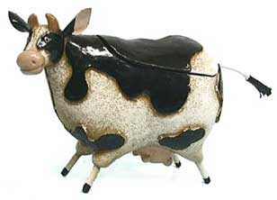 cow trinket box