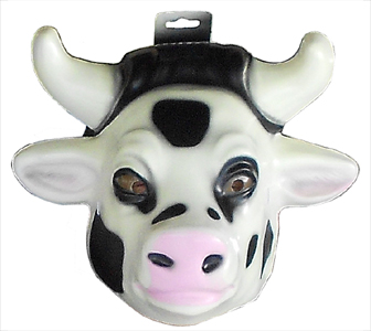 cow party mask supplies